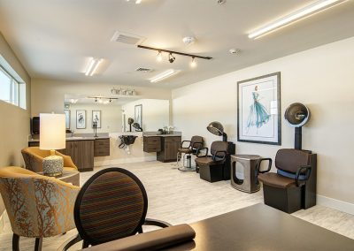 Beauty Salon inside Mosaic Management's Boone Ridge Senior Living