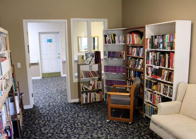 Library at Mosaic Management's River Park Senior Living